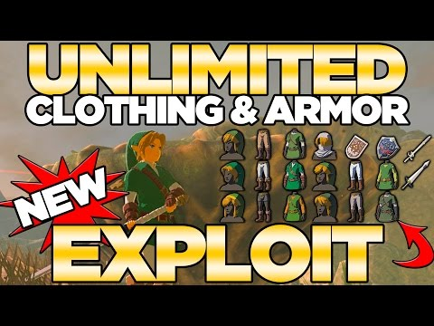 Unlimited Clothing & Armor Exploit with Amiibos in Breath of the Wild   Austin John Plays
