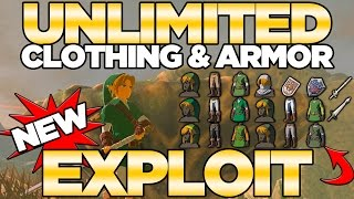 *NEW EXPLOIT* Unlimited Armor & Weapons with Amiibos in Breath of the Wild