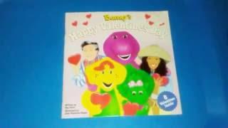 """Barney's Happy Valentine's Day"" read-aloud Children book"