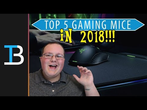 Top 5 Gaming Mice of 2018 (Best Gaming Mice Under $50!)