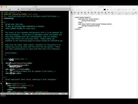 copy from vim paste to macos clipboard