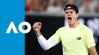 Stefanos Tsitsipas Vs Milos Raonic Match Highlights R3 Australian Open 2020