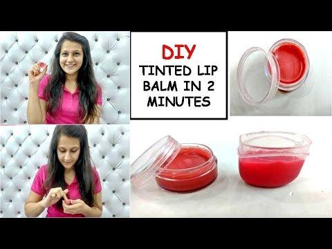 DIY: Vaseline Lip Balm in 2 minutes | Bloopers | Shirin Talwar