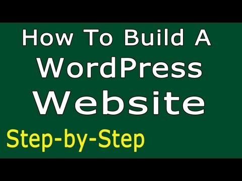 How To Build A WordPress Website - SIMPLE Step-by-Step | Make a Website