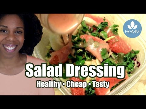 How to Make Homemade Salad Dressing | Live Healthier and Save Money