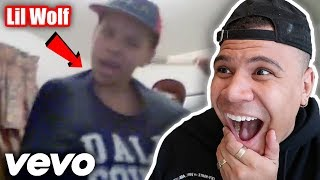 REACTING TO Lil Wolfie (Official Music Video)! *MY FIRST VIDEO EVER*