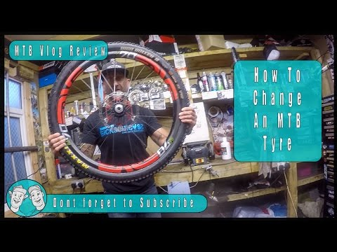 How To Change a Tubeless Mountain Bike Tyre (Tire)