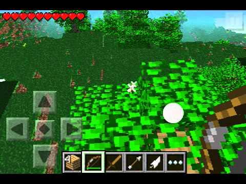 Minecraft PE Infinity Enchanted Bow