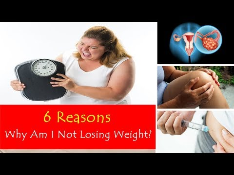 6 Reasons Why Am I Not Losing Weight: Try To Get Rid of These First