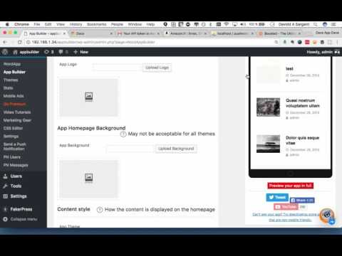 Preview your mobile app in WordApp [Mobile app for WordPress]