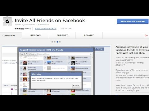 Invite All Facebook Friends in one click by  SHUBHOBHAI
