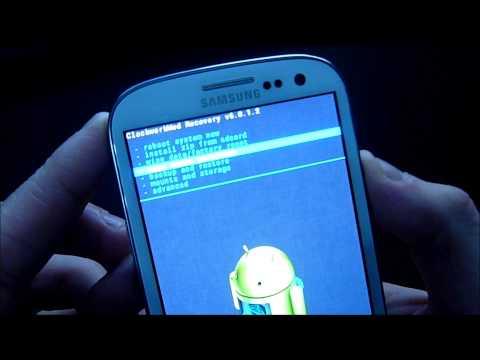 How to install a custom rom on Galaxy S3 I9300 (dutch)