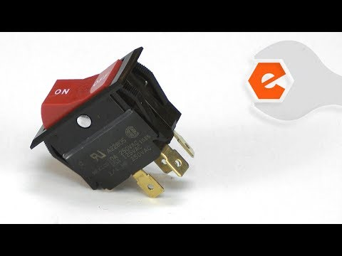 Router Repair - Replacing the Rocker Switch (Porter Cable Part # A22805)