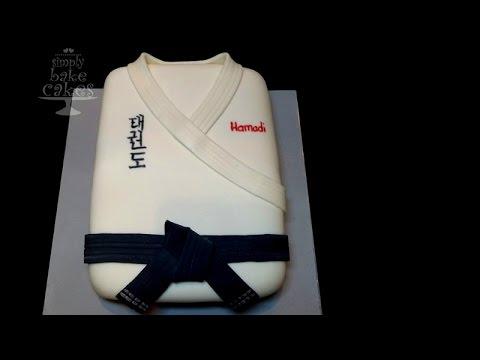 Martial Art/ Taekwondo themed cake
