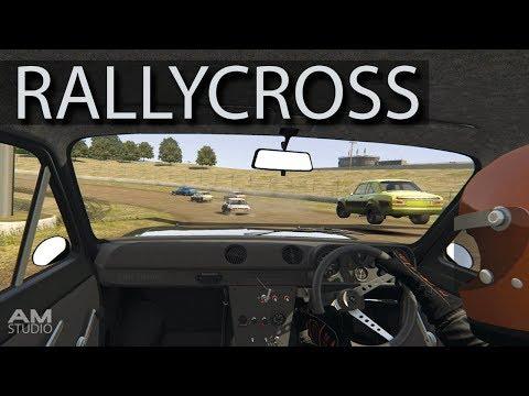 RALLY CROSS w FANATEC CSW 2.5 ASSETTO CORSA