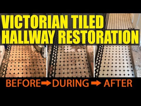 Victorian Tiled Hallway Renovation South London