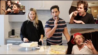 BAKING FOR OUR FRIENDS PRACTICING BEING PARENTS DAVID JASON BRANDON ARMENIAN FAMILY