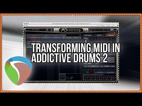 Transform MIDI with Addictive Drums 2