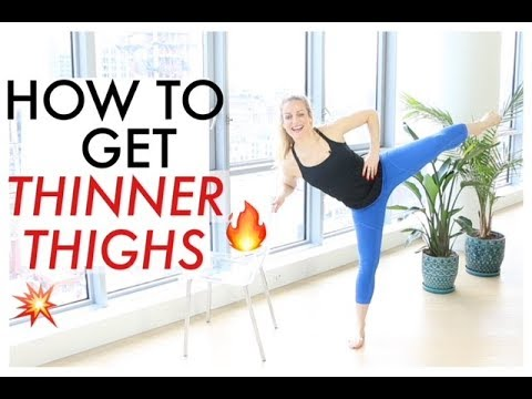 HOW TO GET THINNER THIGHS | TRACY CAMPOLI | BARRE WORKOUT