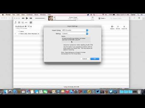 How to Convert iTunes AudioBooks/M4B to MP3 (Mac)