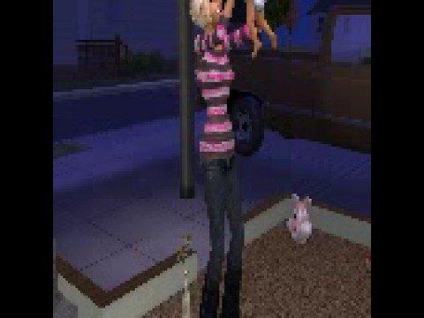 Sims 2 Having triplets