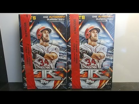 Giveaway winner and 2017 Topps Fire Baseball PYT group break announcements