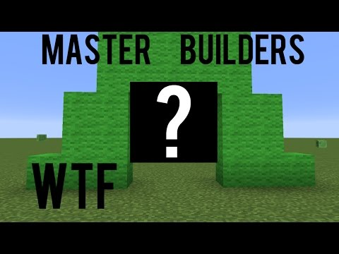 Alien with a P**** WHAT?? Minecraft Master Builders Mineplex Funny Builds
