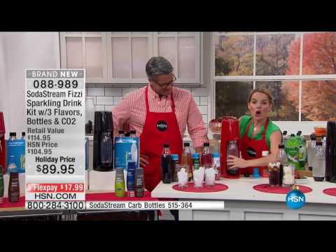 HSN | HSN Today: Kitchen Innovations featuring SodaStream 10.20.2016 - 07 AM