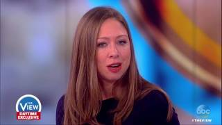 chelsea clinton on kathy griffin controversy running for office the view