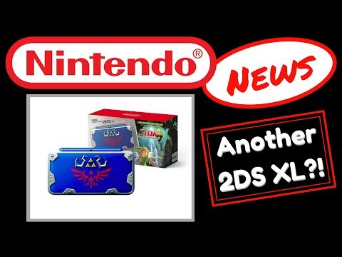 Nintendo News | New 2DS XL | Hylian Shield Edition