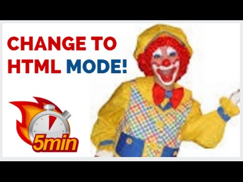 Html Code  Mode - How To Use Website html Only Mode!