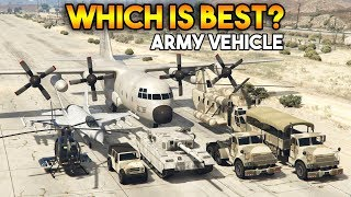 GTA 5 ONLINE : WHICH IS BEST ARMY VEHICLE?