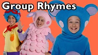 Ring Around the Rosy and More Group Rhymes   Nursery Rhymes from Mother Goose Club!