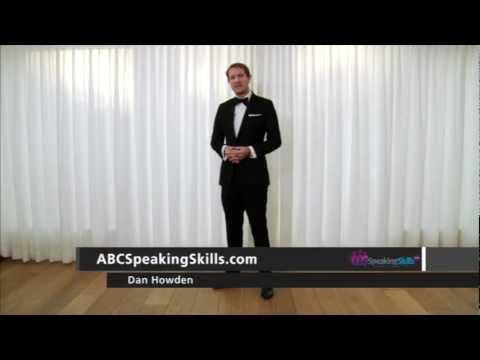 Public Speaking Tips- Posture - How To Stand -ABC-Speaking-Skills-Dan-HD-720p