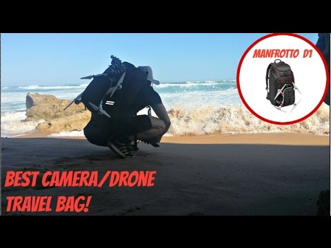 Best Camera/ Drone Travel Bag - Manfrotto D1 Review