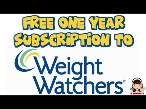 ~FREE~ ONE YEAR WEIGHT WATCHERS MAGAZINE SUBSCRIPTION