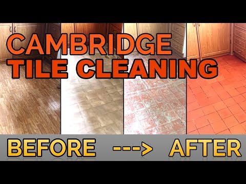 Cambridge Tile Cleaning - Terracotta Tile Cleaning Cambridge with Lino Removal & Floor Restoration