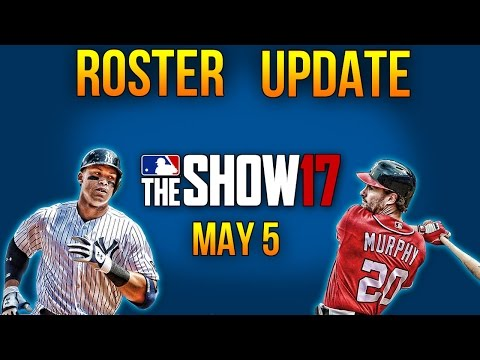 MLB The Show 17 | May 5th Roster Update