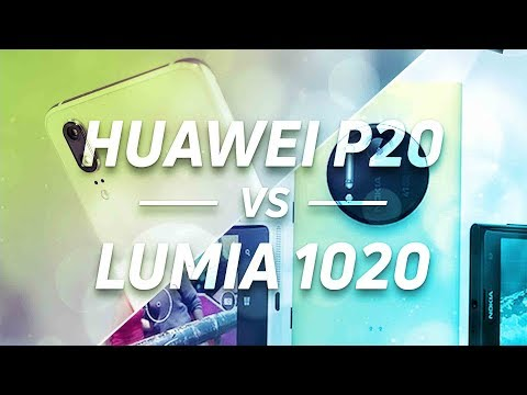 40 MP Camera Showdown: Huawei P20 Pro vs Lumia 1020