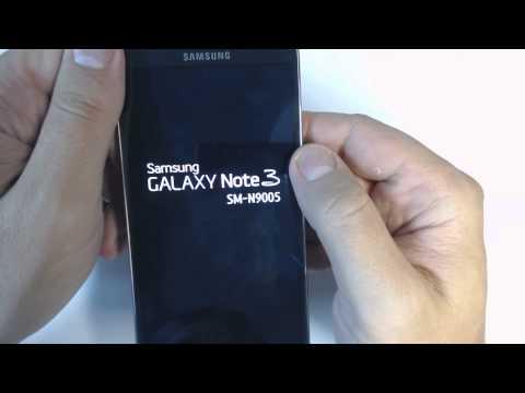 Samsung Galaxy Note 3 N9005 - How to reset - Como restablecer datos de fabrica