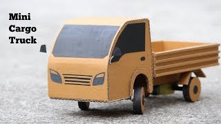 How To Make RC Cargo Truck || Mini Cargo Truck