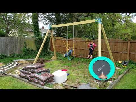 Swing Set Upgrade 2017 - How To Build Your Own