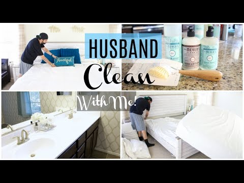 HUSBAND CLEAN WITH ME | MOTHER'S DAY