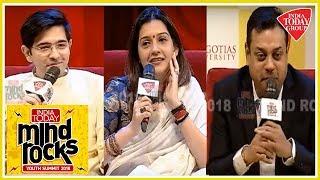 Funny Political Role Play By Sambit Patra, Priyanka Chaturvedi & Raghav Chadha | Mind Rocks 2018