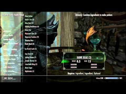 Skyrim - The Best Legit Alchemy Potions