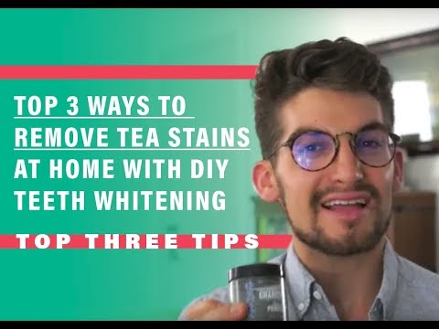 Top 3 Ways to Remove Tea Stains at Home with DIY Teeth Whitening