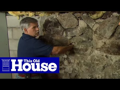 How to Repoint a Stone Foundation - This Old House