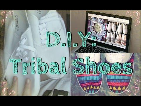 DIY: Tribal shoes | Ida Grip