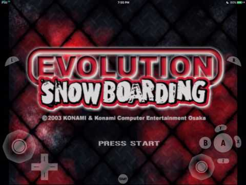 gamecube for ios- Evolution Snowboarding (Gameplay) gc4ios, dolphin emulator for ios