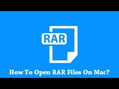 How To Open RAR Files On Mac Computer?